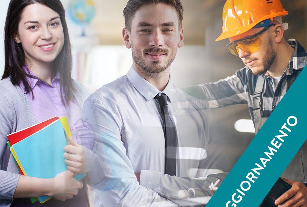 Corso di Aggiornamento per lavoratori – Tutte le categorie di rischio